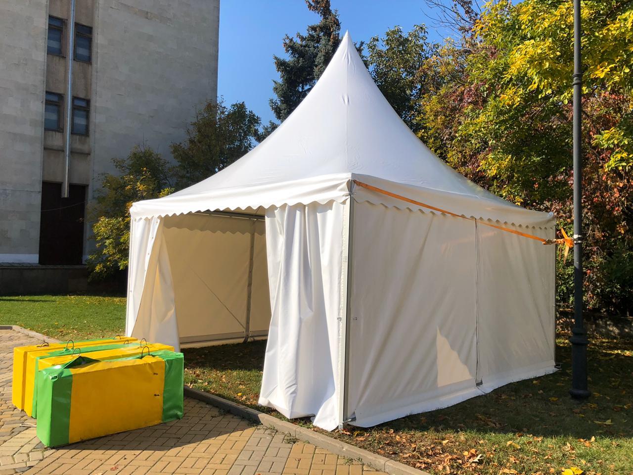 5х5 - Аренда шатра и оборудования для гримерок